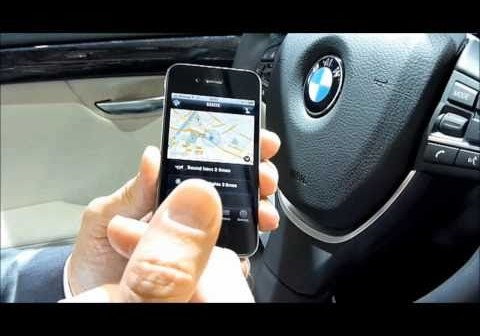 iphone app my bmw remote connected drive fernbedienung. Black Bedroom Furniture Sets. Home Design Ideas