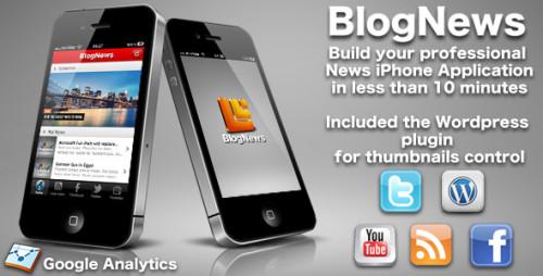 Eigene iPhone App mit Blognews erstellen
