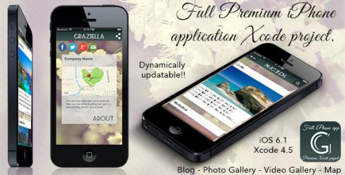 Eigene iPhone App erstellen mit Graziella