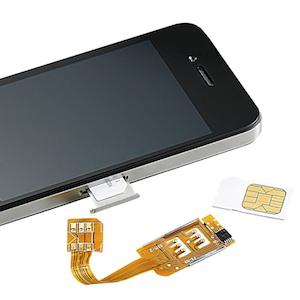 zwei oder drei sim karten in einem iphone so geht 39 s. Black Bedroom Furniture Sets. Home Design Ideas