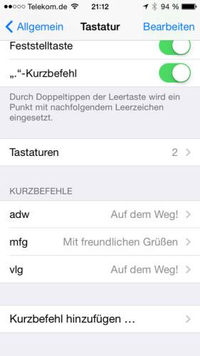 iphone_kurzbefehle_anlegen