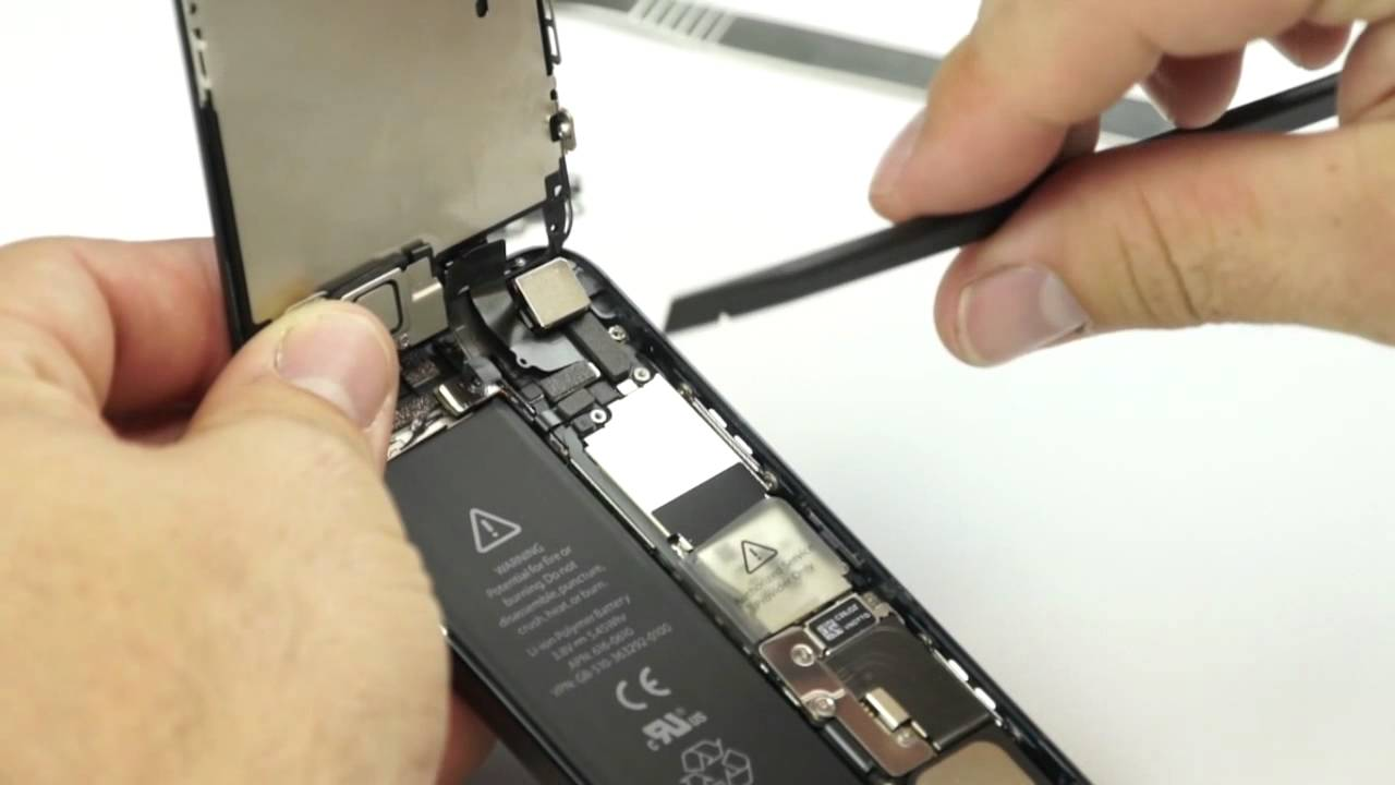 iphone 5 reparatur anleitung video gebrochenes display. Black Bedroom Furniture Sets. Home Design Ideas