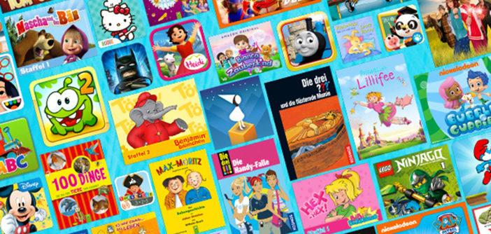 FreeTime Unlimited: Amazon's Video, Bücher & App-Flatrate für Kinder